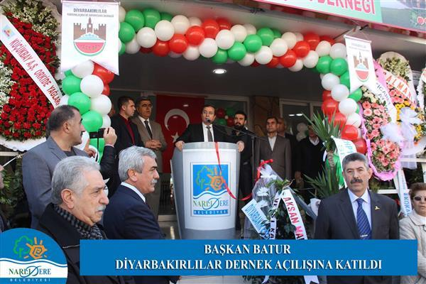 Başkan Batur Diyarbakırlılar Dernek açılışına katıldı